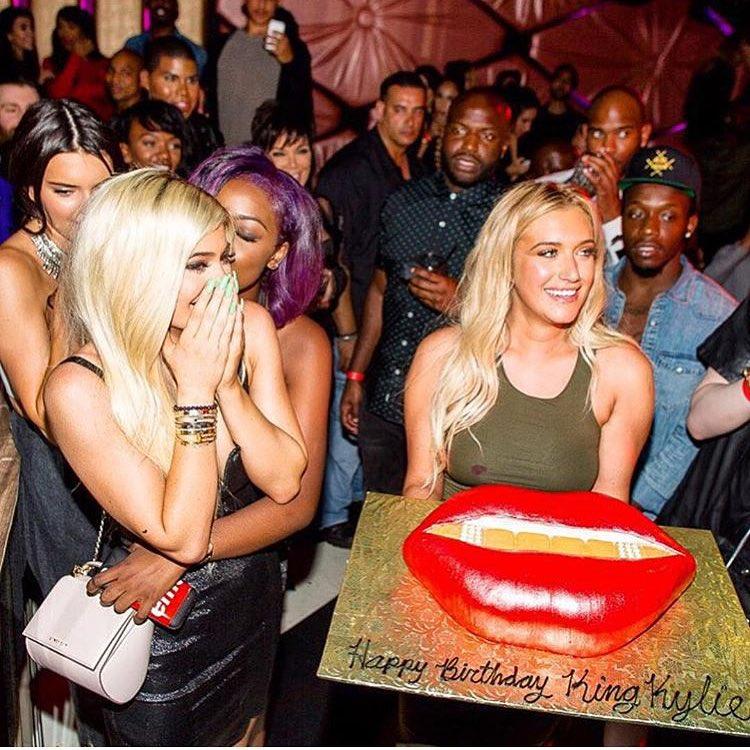 Kylie Jenner's sensational lip cake