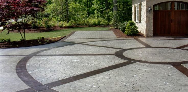 Choosing Stamped Concrete Pattern for your California Concrete Driveway