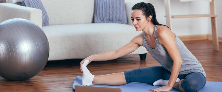 Taking Part In Yoga At Home For Beginners